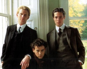 James Wilby, Rupert Graves and Hugh Grant